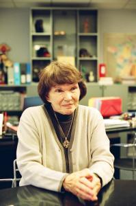 Danielle Mitterrand in 2005