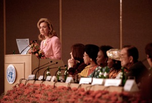 Hillary Clinton at Beijing confrence
