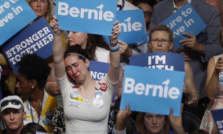Bernie Sander supporter