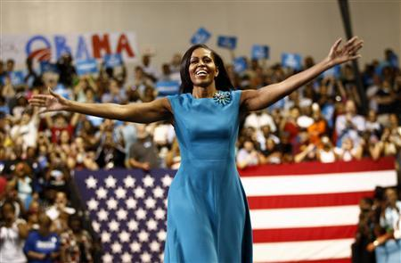 File photo of Michelle Obama in Richmond