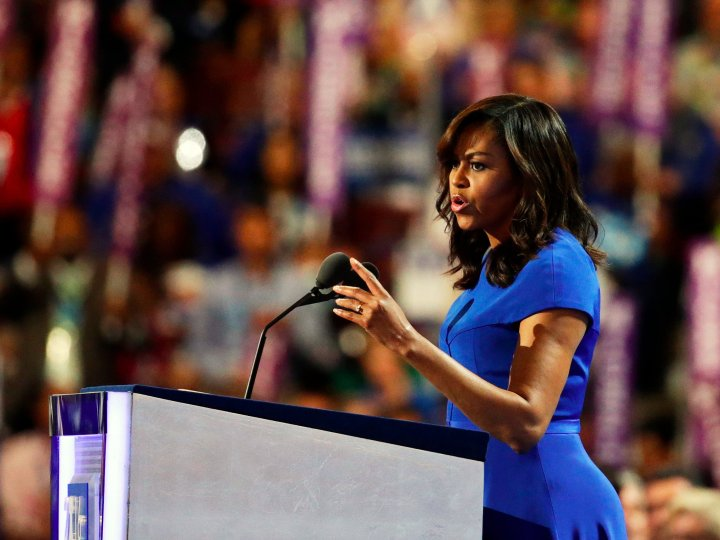 Michelle Obama Democratic National Convention 2016