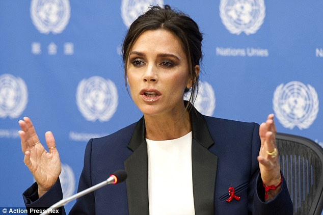 Victoria Beckham UN Goodwil Ambassador