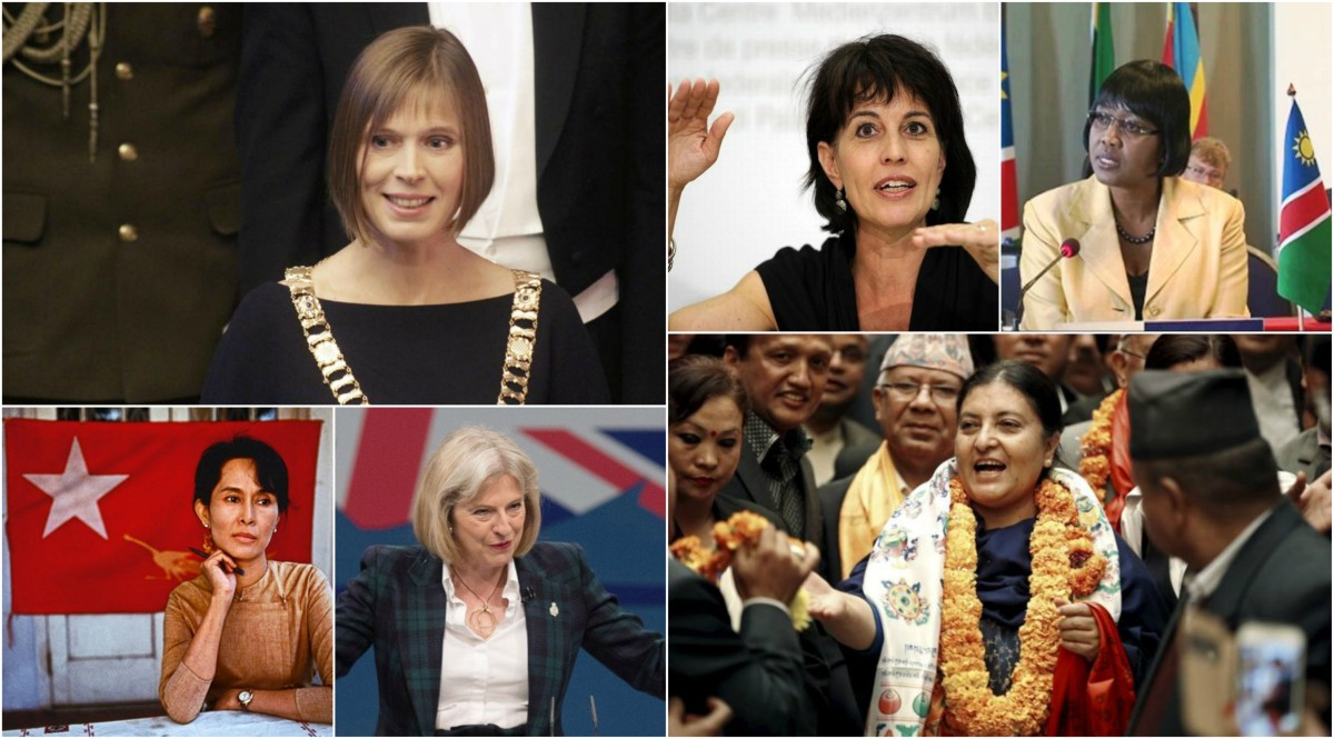 2017, women and political leadership - female heads of State and heads of government