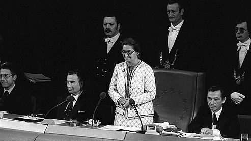 Simone Veil in the European Parliament