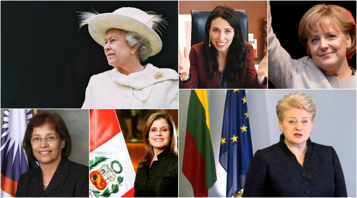 2018, women and political leadership - female heads of state and heads of government